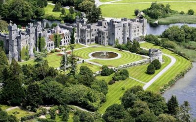 major restoration work taking place at Dromoland Castle, glass being used is IMC…